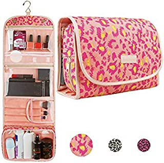Hanging Travel Toiletry Bag – Cosmetic Make Up Kit – Bathroom Shower Organizer for Women and Girls – TSA Approved