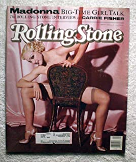 Madonna - The Rolling Stone Interview by Carrie Fisher - Rolling Stone Magazine - #606 - June 13, 1991