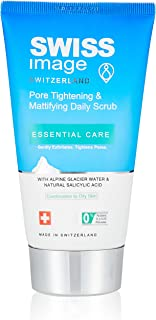 Swiss Image Essential Care Pore Tightening & Mattifying Daily Scrub, 150ml