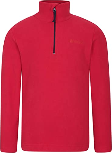 Suitable for Winter Layering Lightweight /& Breathable Sweater Warm Pullover Quick Drying Sweatshirt Outdoors Mountain Warehouse Camber Kids Fleece Top