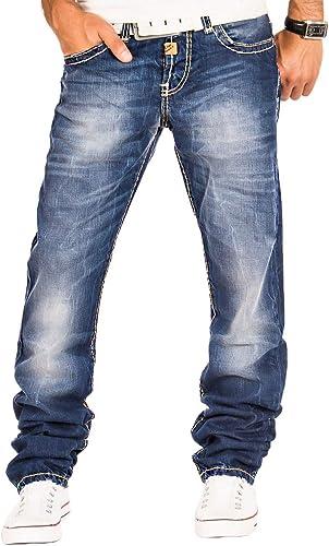 Cipo & Baxx Herren Jeans Hose Denim Jeanshose