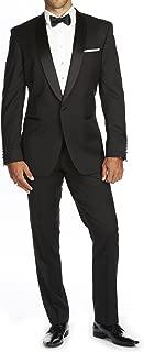 Braveman Mens Shawl Lapel Runway 2 Piece Tuxedo