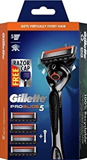 Gillette Starter Kit ProGlide Manual Razor Handle + 4 Blade RF