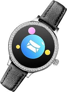 YENISEY Pulsera Actividad Reloj Fitness Pulsera Deportiva Fitness Tracker con Monitor de Sueño Impermeable IP67 Reloj con Pulsómetro Podómetros Cronómetros,Notificación de Mensaje para iOS y Android