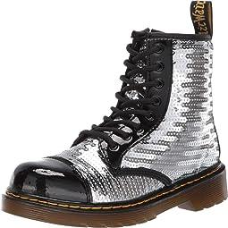 1460 Pooch Sequins Boot (Little Kid/Big Kid)