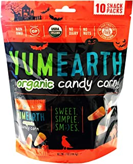 Yumearth YumEarth Hallween Limited Edition Organic Gummy Candy Snack Pack (Candy Corn)