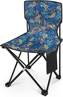 Sponsored Ad - Folding Camping Chair, Outdoor Folding Chairs, Fishing Chair with Oxford Cloth and Metal Frame, Outing Spor...