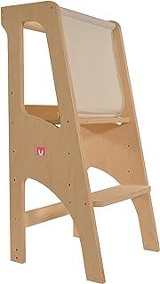 Bianconiglio Kids ® Evo 2020 Learning Tower, Multistrato di Betulla della Migliore qualità, KIDSAFE Legno Naturale Non tra...