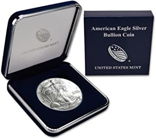 2004 Silver Eagle In US Mint Gift Box $1 Brilliant Uncirculated