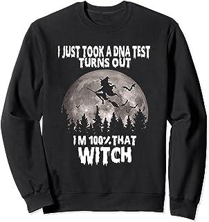 Sorcière amusante pour Halloween Sweatshirt