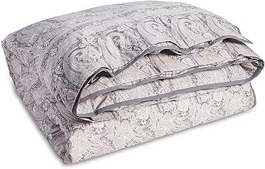 Ralph Lauren Mariella Paisley King Duvet Cover Cotton Sateen Grey