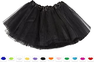 Tutu Fairy Ballet Layered Tulle Unisex Skirt Costume Various Colours Adults & Kids