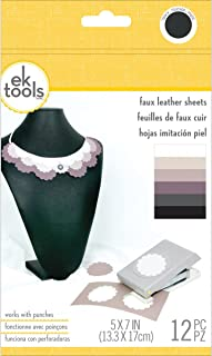 EK tools 55-59024 Faux Leather Basics Punch Material Pack