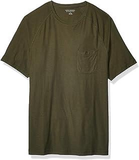 Men's Slim-fit Slub Raglan Crew T-Shirt