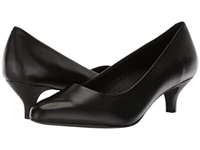 Trotters Kiera (Black Soft Leather) Women