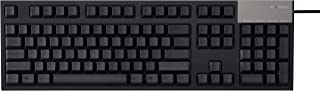 Fujitsu Realforce R2 Keyboard (Full, Black, Mixed Key Weight)