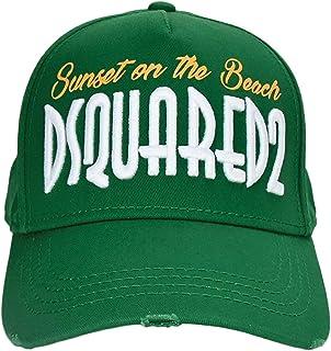 DSQUARED2 BCM0059 Beach Cappello Uomo Men's Baseball cap