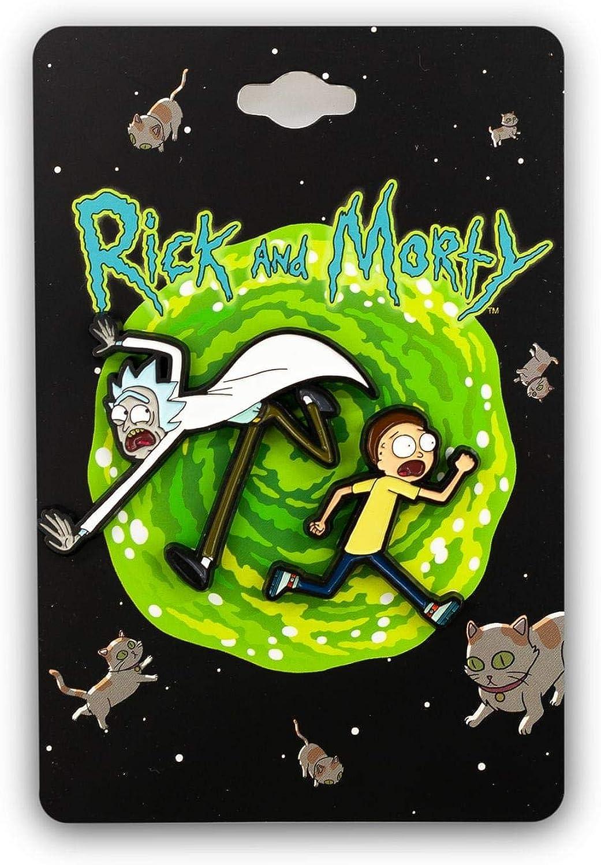 Rick & Morty Enamel Collector's Pins