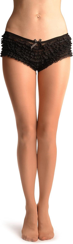 Chestnut Full Foot Dance Pantyhose (Tights) 80 Den - Dance Tights