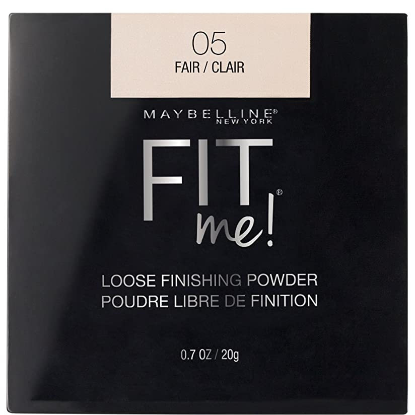 乗算名誉ある半円MAYBELLINE Fit Me! Loose Finishing Powder - Fair (並行輸入品)
