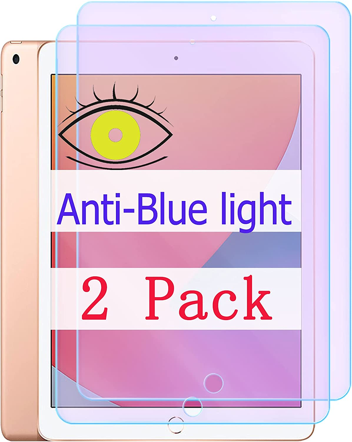 Anti Bluelight At the price Compatible With iPad Now free shipping Generation 8th Protec Screen