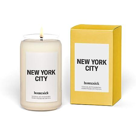 Homesick Candle Scented, New York City, Jasmine
