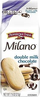 Pepperidge Farm Milano Double Milk Chocolate Cookies, 7.5 Ounce (Pack of 3)