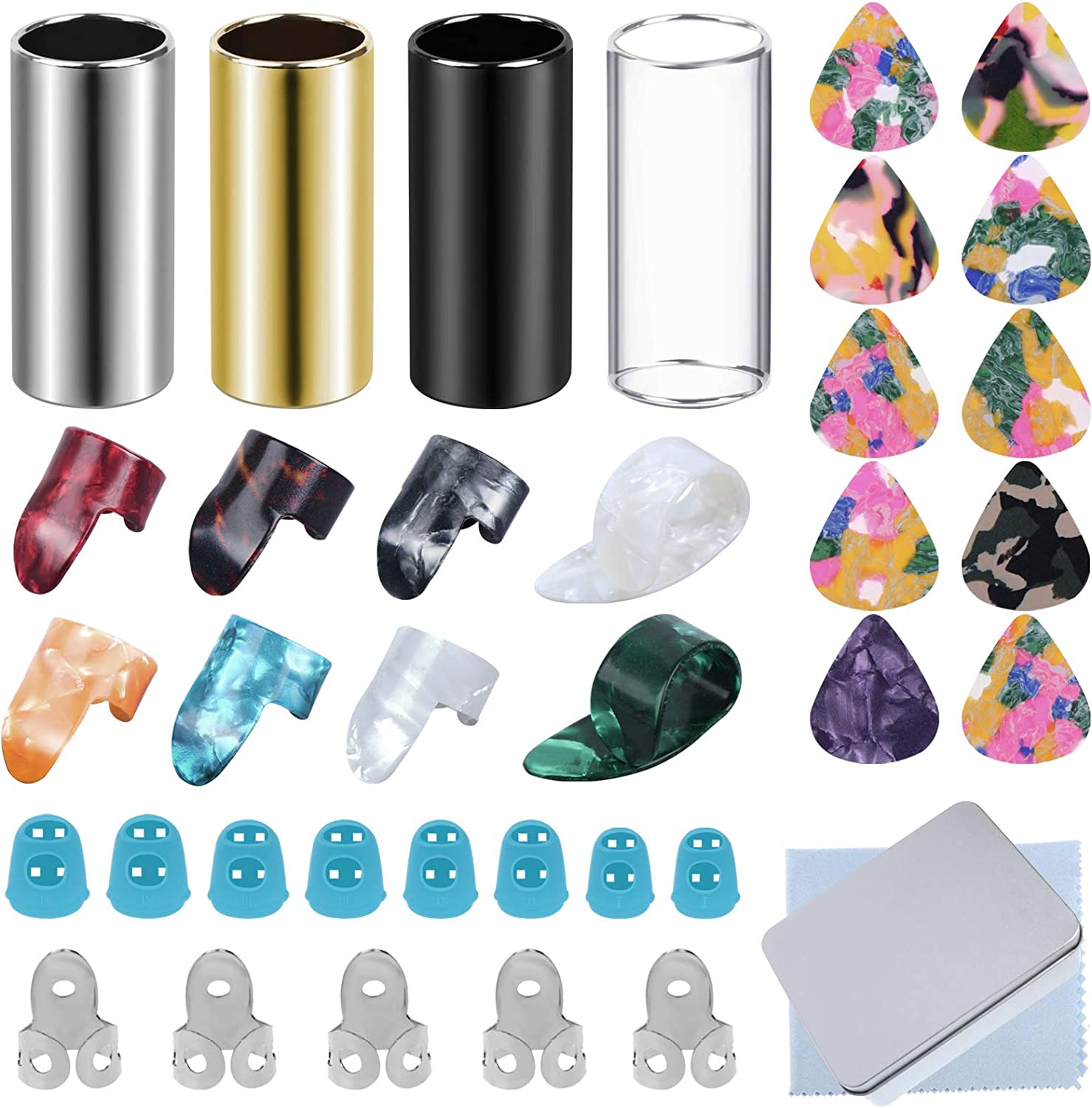 Xgood Guitar Tools Sets 4 Guita Pieces Slides Our shop OFFers the best service 10 Selling rankings