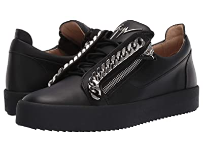 Giuseppe Zanotti Frankie Chain Low Top Sneaker (Birel/Vague Nero) Men