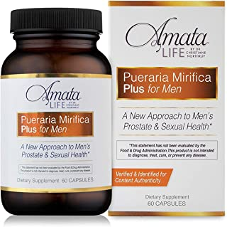 Amata Life by Dr. Christiane Northrup Pueraria Mirifica Plus for Men Capsules 30 Day