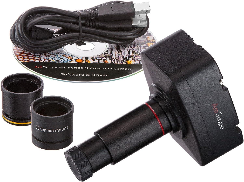 10MP Mikroskop Digital Kamera kompatibel w Windows & Mac OS