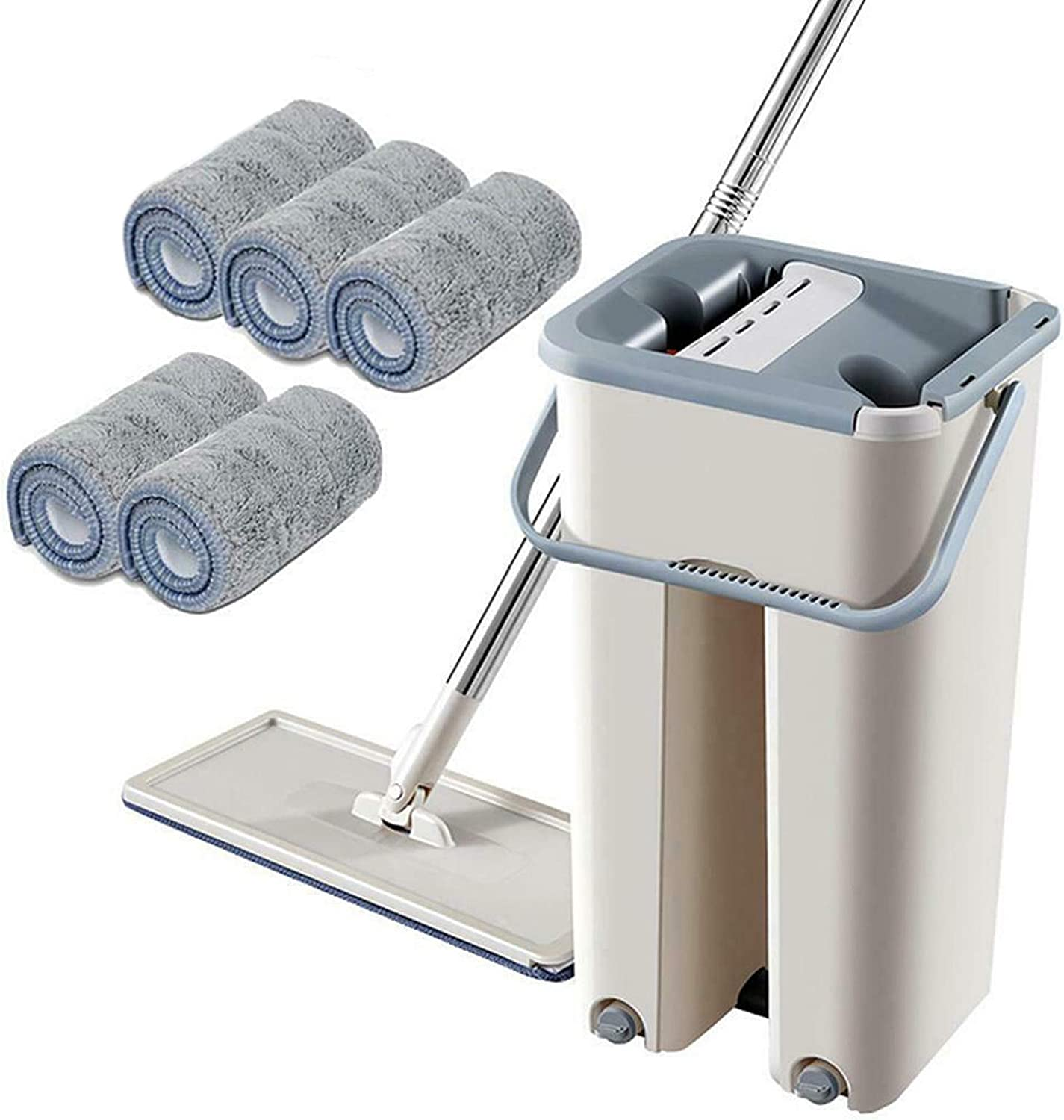Muliy Flat Mop Free Hand Tampa Mall Wash Lazy Degree Set 360 Cleaning Tool Surprise price