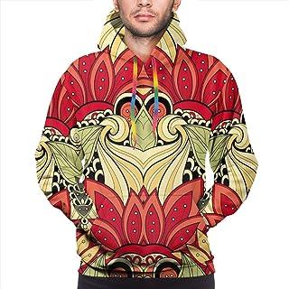 Skateboard boy Sudadera con Capucha para Hombre Vector Seamless Abstract Tribal Pattern. Sudadera de Textura étnica Dibujada a Mano