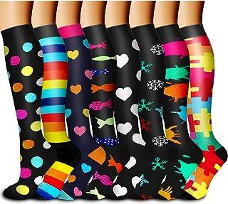 Copper Compression Socks Women & Men - Best for Running,Hiking,Athletic,Sports,Flight Travel & Pregnancy
