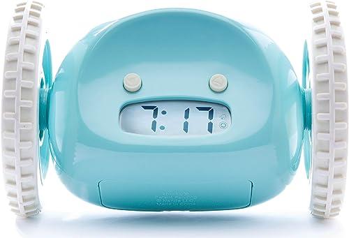 CLOCKY, Réveil Matin Roulant (Le Originale) | Tres Fort pour Le Gros Dormeurs (Robot Clockie pour Le Chambre Adultes ...