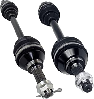 Caltric FRONT RIGHT and LEFT COMPLETE CV JOINT AXLES Fits KAWASAKI BRUTE FORCE 750 KVF750 4X4i 2005 2006 2007 2012 2013 2014 2015 2016 2017