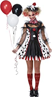 Women's Twisted Clown Costume