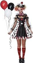California Costumes Women's Twisted Clown Costume