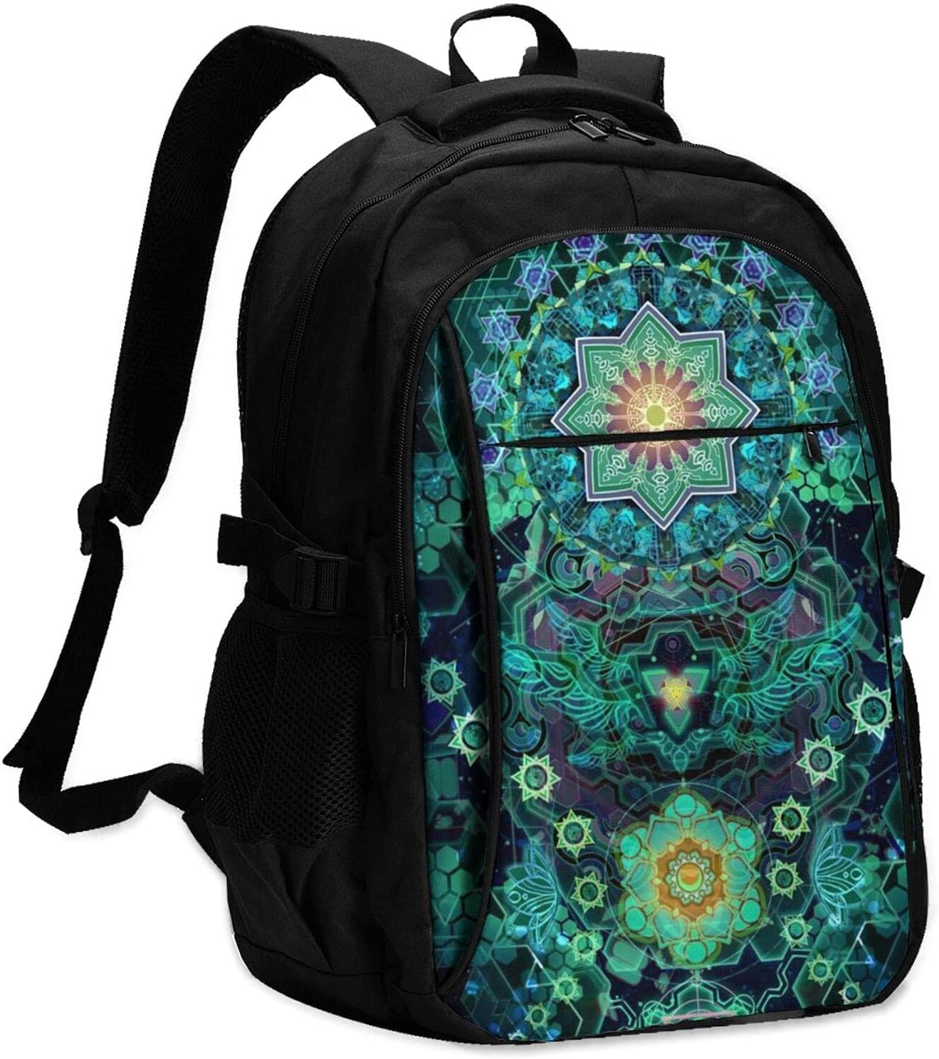 YAZXHJAZ Brand new Backpack with USB Milwaukee Mall Laptop School 17 Travel Bag