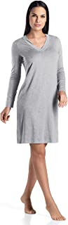 HANRO Women's Champagne Long Sleeve Gown