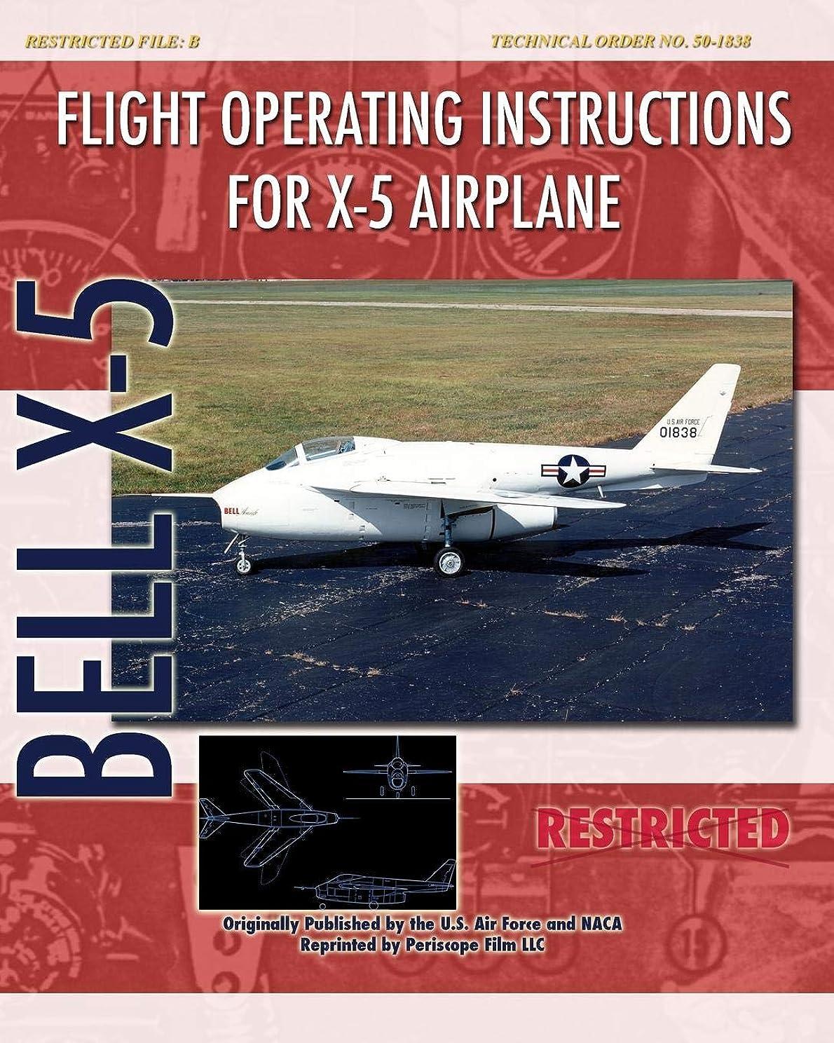 若者ポーズ小道具Flight Operating Instructions for X-5 Airplane