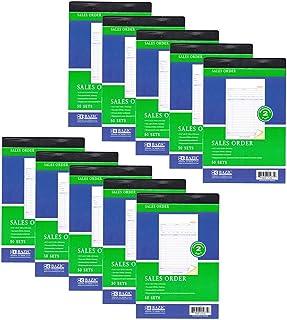 AllTopBargains 10 Pieces 2 Part Carbonless Sales Order Books Receipt Form, 50 Set