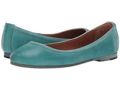 Frye Carson Ballet (Turquoise) Women