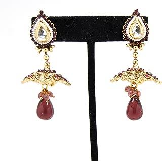 Bollywood Designer Exclusive One Gram Gold Earrings For Women/AZERP2G