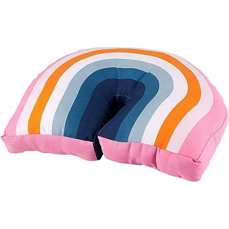 Regenbogen-geformtes Nackenkissen Plüschpuppen weiches gefülltes Rückenkissen