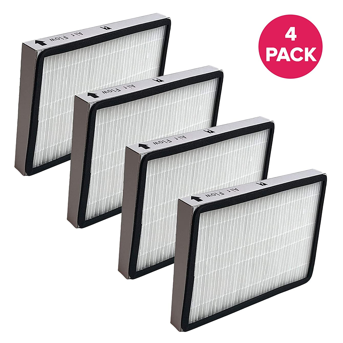 Crucial Vacuum Air Filter Replacement Part # 86889, 20-86889, 40324 - Compatible with Kenmore Vacs - Kenmore EF1 HEPA Style Filter Fits Whispertone & Progressive - Washable, Reuseable (4 Pack)