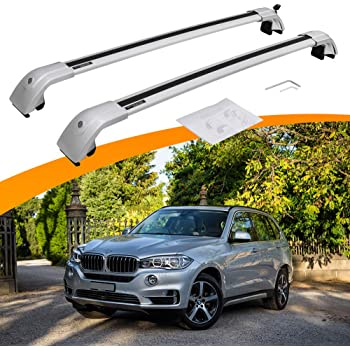 Black Roof Rack Rails Tail Cover Cap 4pcs For Toyota Land Cruiser Lc200 08 16 Ebay
