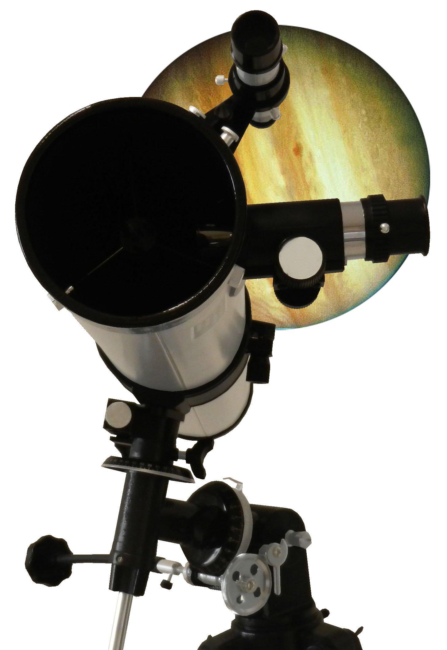"""Telescopio reflector de 900-76 EQ2 /""""Big-Pack/"""""""