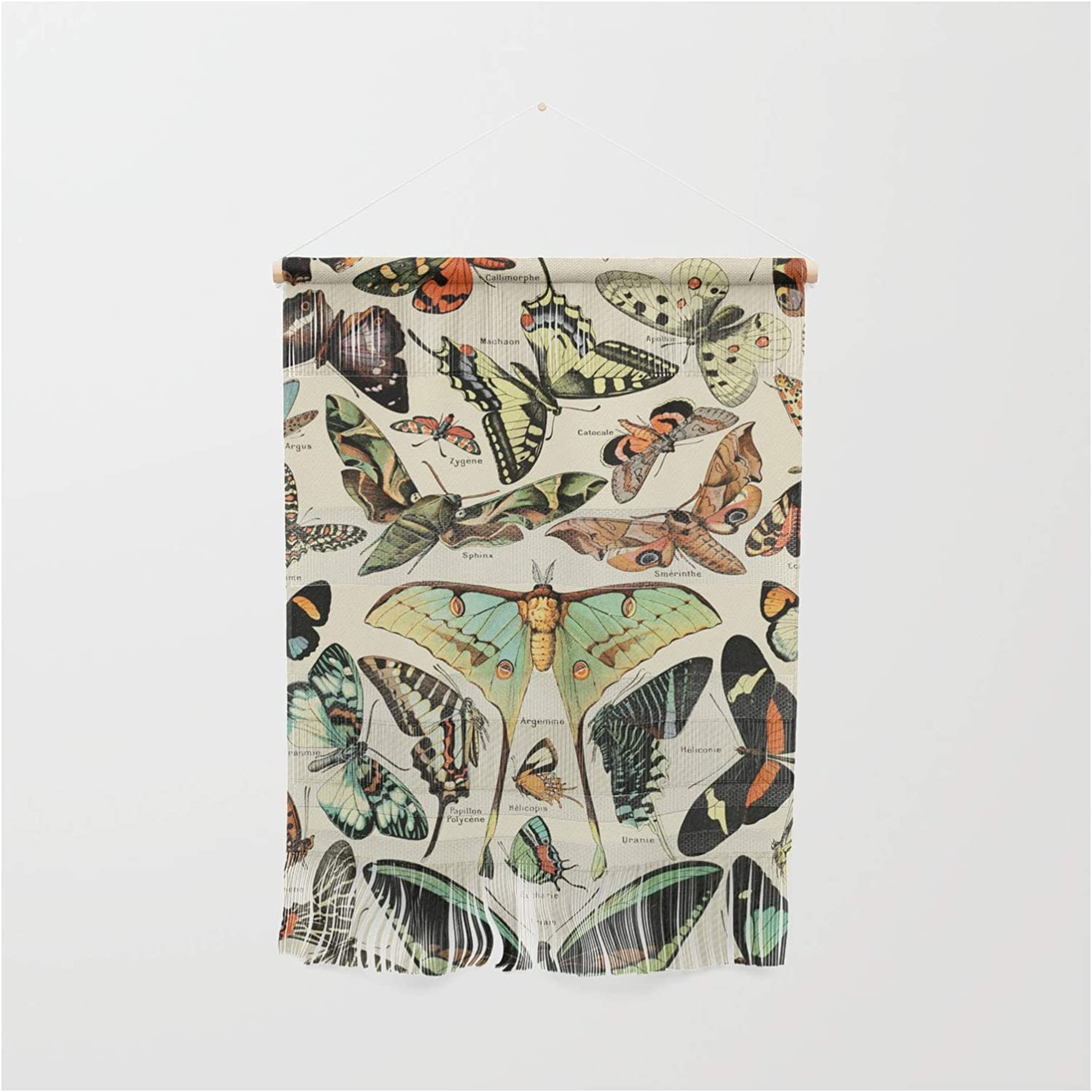 Society6 French Vintage Mesa Mall Butterflies Papillo Ranking TOP16 Millot Adolphe Chart