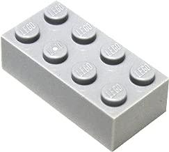 LEGO Parts and Pieces: Light Gray (Medium Stone Grey) 2x4 Brick x20